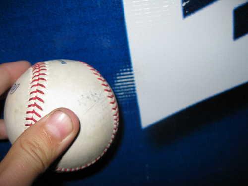 Mark on Ball/Banner