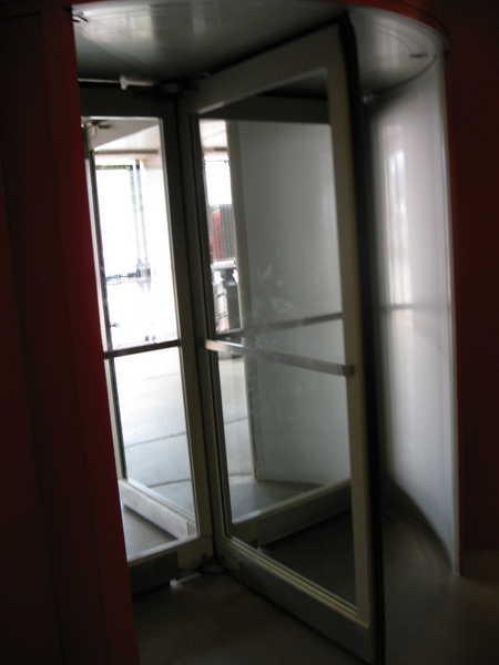 Metrodome Revolving Door