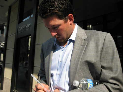 Joel Hanrahan Signing