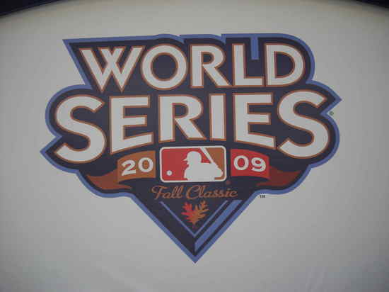 2009 World Series Logo