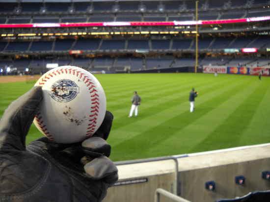 Commemorative Baseball from Damaso Marte