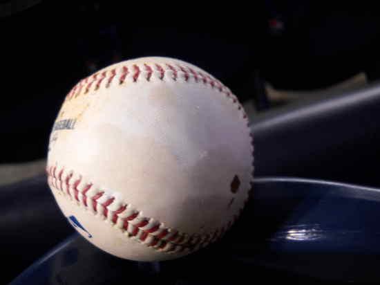 Waterlogged Baseball