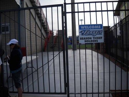 Dunedin Stadium Season Ticket Holder Entrance