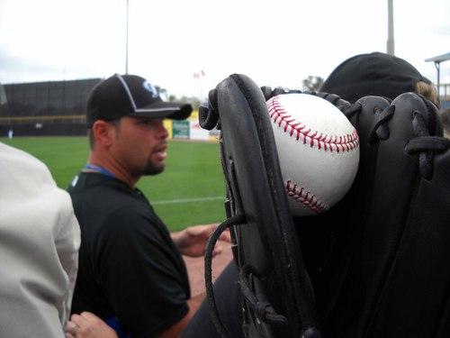 Raul Chavez and Baseball