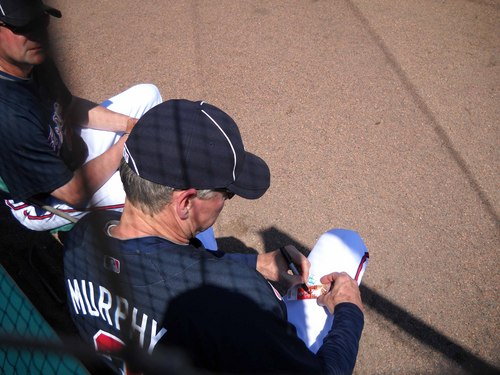 Dale Murphy signing