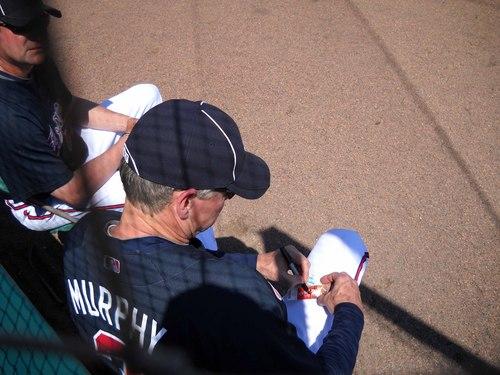 Dale Murphy signing