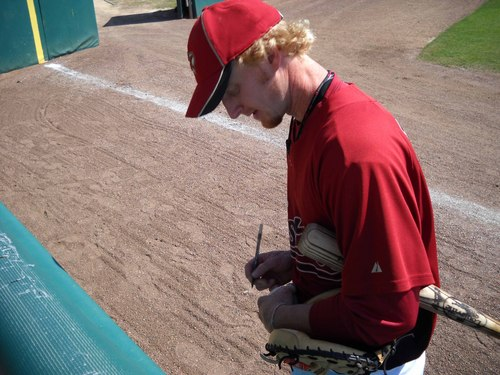 J.R. Towles signing