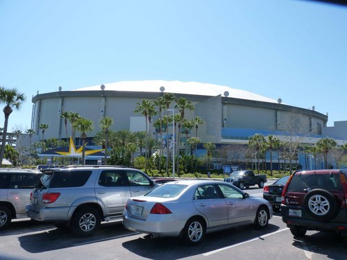 Outside of Tropicana Field